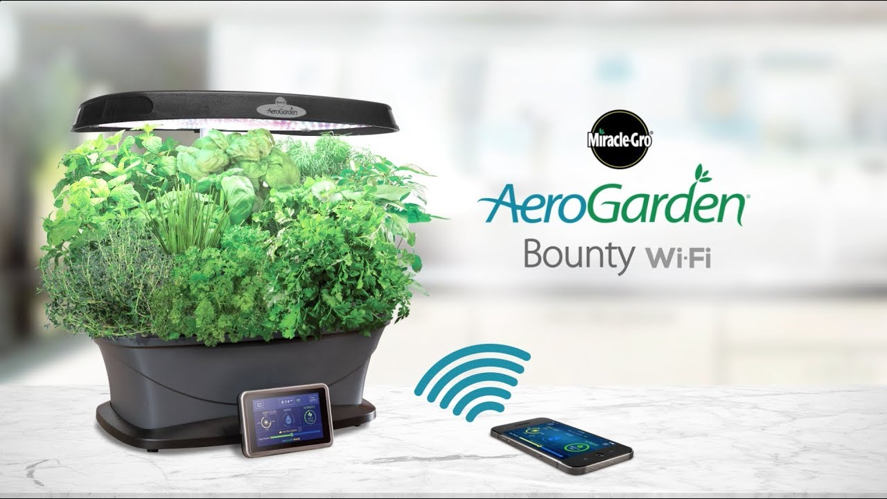 The Smart Countertop Garden - AeroGarden Bounty WI-FI