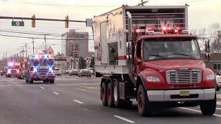 Fire Trucks Responding Compilation - All Time Best