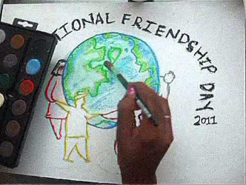International Friendship Day Poster Design