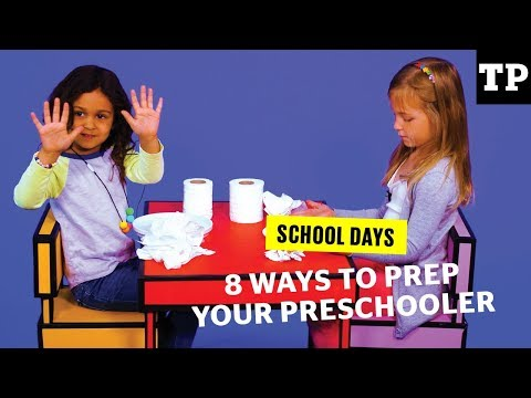 8 ways to prepare your preschooler for their first day of school | School Days