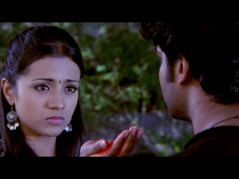 Trisha Propose Prabhas To Marry Love Scene || Pournami Movie