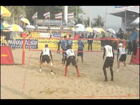 Beach Sepak Takraw - Air Sea Land Games 2011