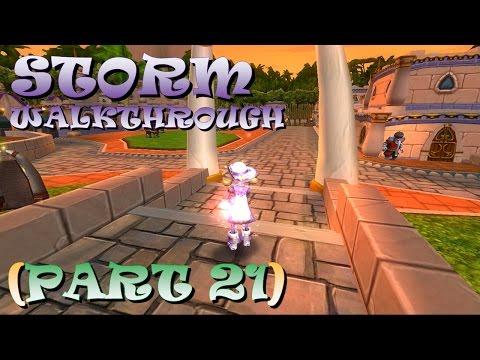 Wizard101- STORM Walkthrough (Part 21) Stone Town