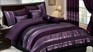 Purple Comforter Sets King