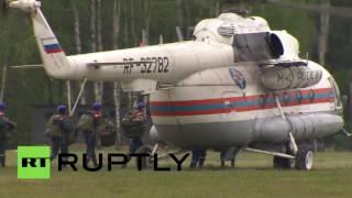 В подмосковном Ногинске прошли демонстрационные учения МЧС России