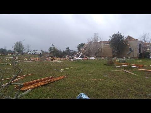 Central Georgia Tornado Warnings In Effect