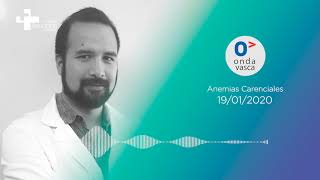 "Onda Vasca | El hematólogo Jonathan Wong habla sobre su charla ""Anemias Carenciales"""