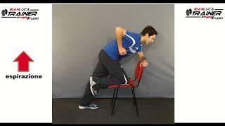 esercizi dorsali REMATORE AD UN BRACCIO allenamento con personal trainer