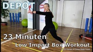 DEPOT Low Impact Box Workout