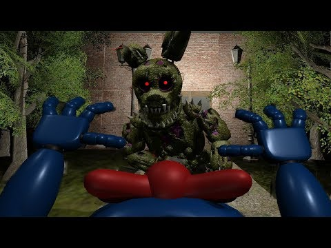 PLAY AS THE NEW SINISTER HACKED SPRINGTRAP! | FNAF Sinister Hacked 2