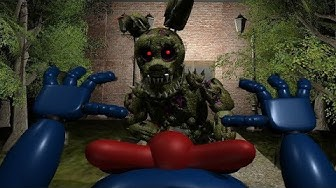 PLAY AS THE NEW SINISTER HACKED SPRINGTRAP!   FNAF Sinister Hacked 2