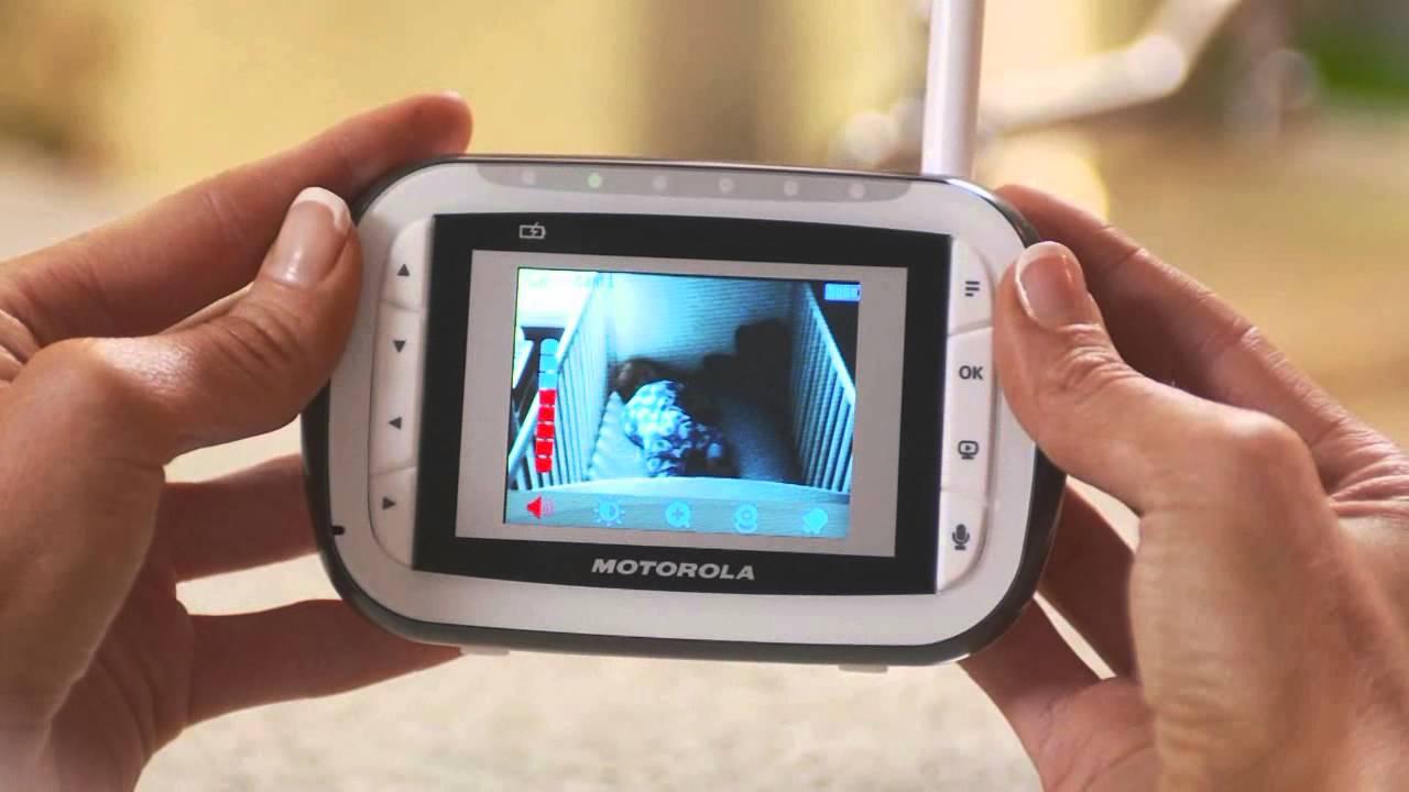 motorola mbp 41 baby monitor youtube. Black Bedroom Furniture Sets. Home Design Ideas