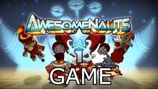 Awesomenauts League 1 Gameplay | Leon Full Game