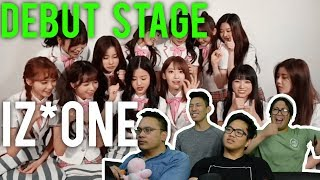 Video IZ*ONE DEBUT STAGE! (Reaction) download MP3, 3GP, MP4, WEBM, AVI, FLV November 2018