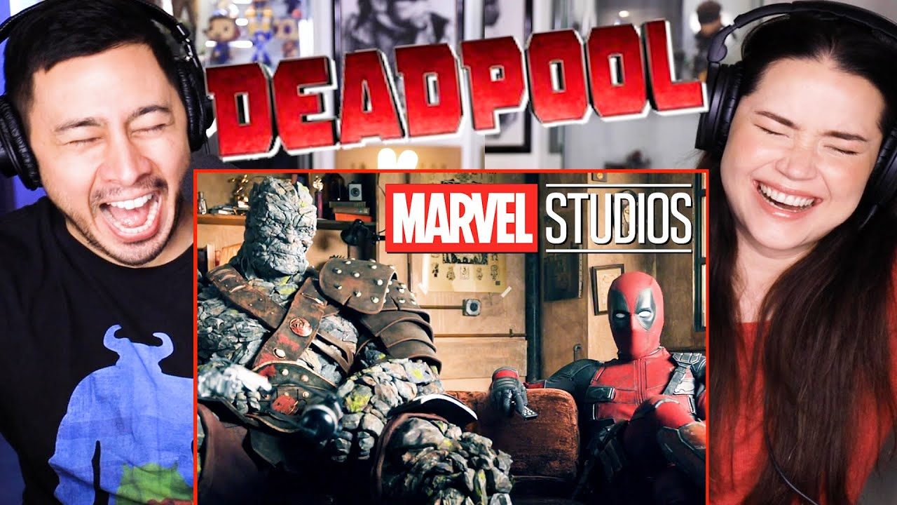 Download DEADPOOL & KORG REACT!   Deadpool First MCU Scene   Free Guy Teaser Reaction!