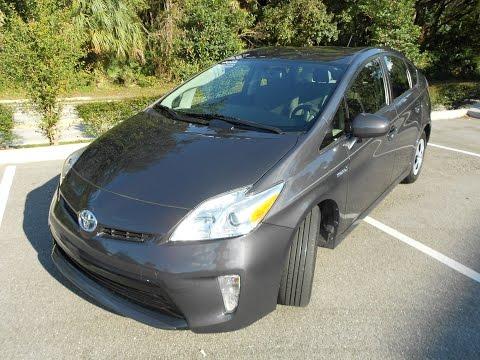 2012 Toyota Prius super clean Florida car clean Carfax Bluetooth Multimedia Display