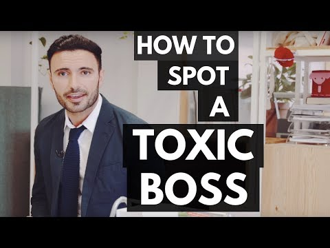 How to Spot a Toxic Boss (Signs of a Bad Manager)