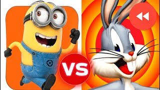 Despicable Me Minion Rush vs Looney Tunes Dash (Reverse)