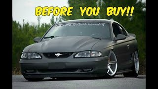 Watch This BEFORE You Buy an SN95 Mustang GT! (94-98)