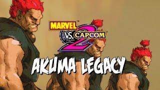 AKUMA, AKUMA and...AKUMA! - Akuma Legacy: Marvel Vs. Capcom 2