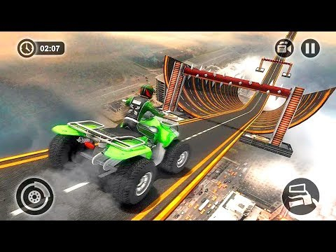 Racing Quad Bike Stunts Game #Bike Racing Games Play Online #Video Games Download