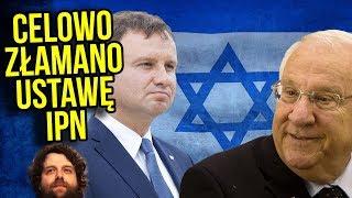 Prezydent Izraela w Polsce Świadomie Złamał Ustawę o IPN. Duda go Kryje? - Komentator