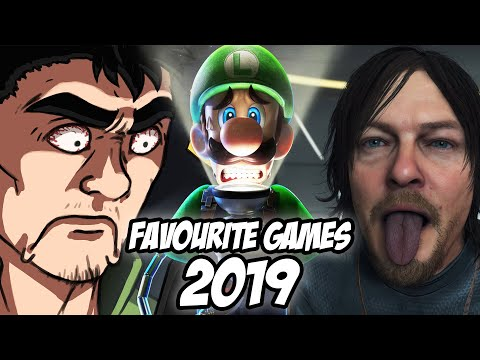 My Favourite Games Of 2019