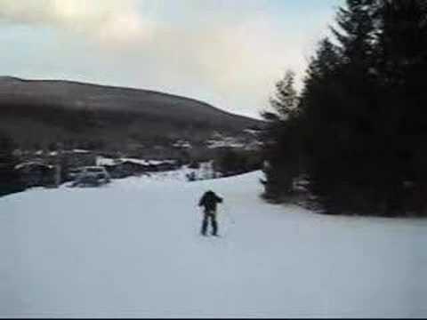 Skiing at Hunter Mountain