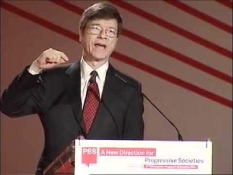 Jeffrey Sachs addresses the Party of European Socialists