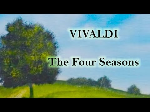 Vivaldi Four Seasons - with sonnets text and art to enhance the experience!