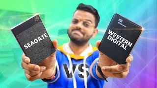 Seagate 2tb Backup Plus Ultra Touch Vs Wd Elements 2tb External Hard Drive - Speed Test (Hindi)