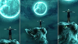 Big Cat ~ Fantasy Photoshop Manipulation Effects