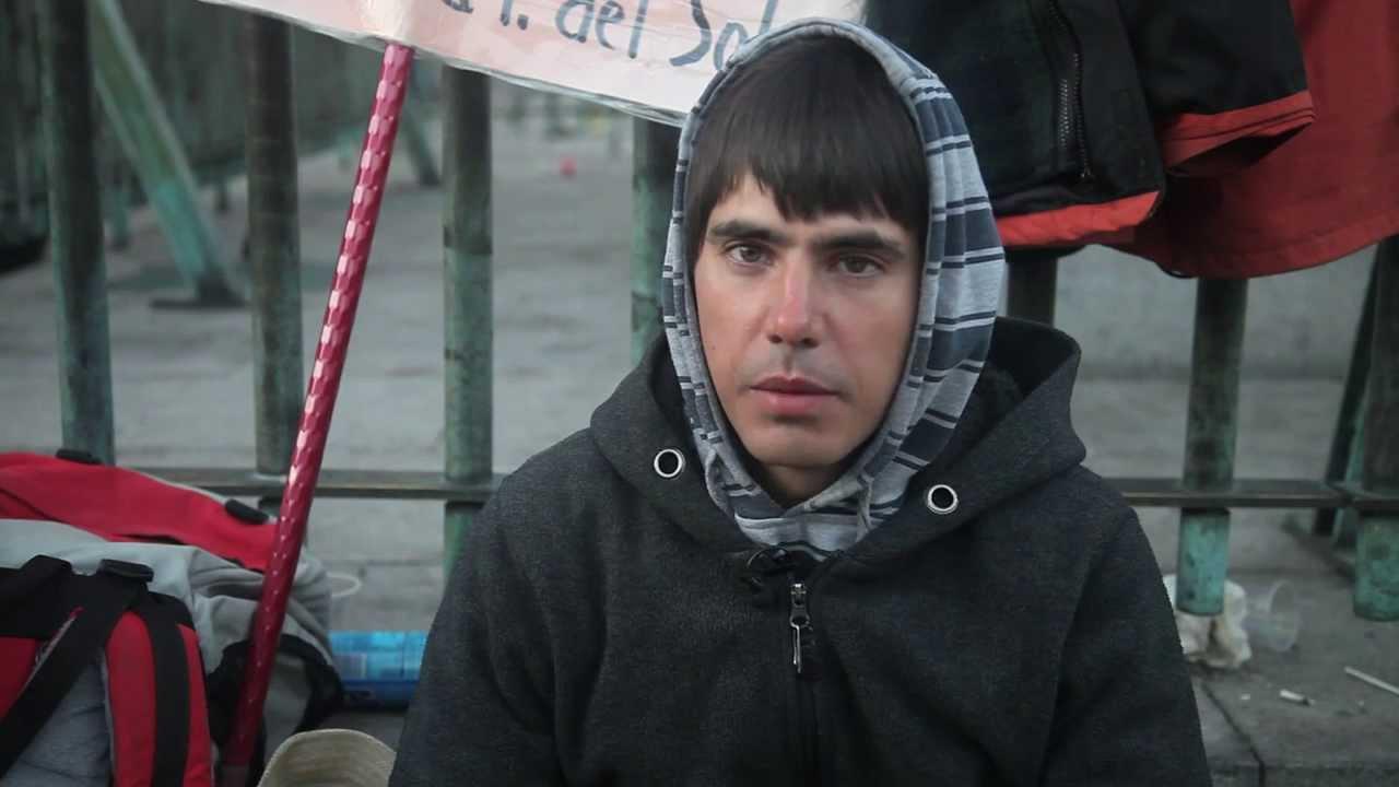 20 dias en huelga de hambre y contando, Jorge Arzuaga,
