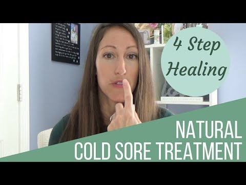 4 Natural Ways to Heal a Cold Sore & Cure Herpes Simplex Virus 1 & 2 Fast & Naturally!