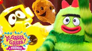 Yo Gabba Gabba! Family Fun - HAPPY YO GABBA GABBA SONGS | Kids Songs | DJ LANCE ROCK | BABY SONGS