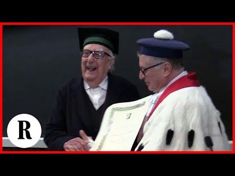 Tor Vergata La Commozione Di Camilleri Prof Onorario