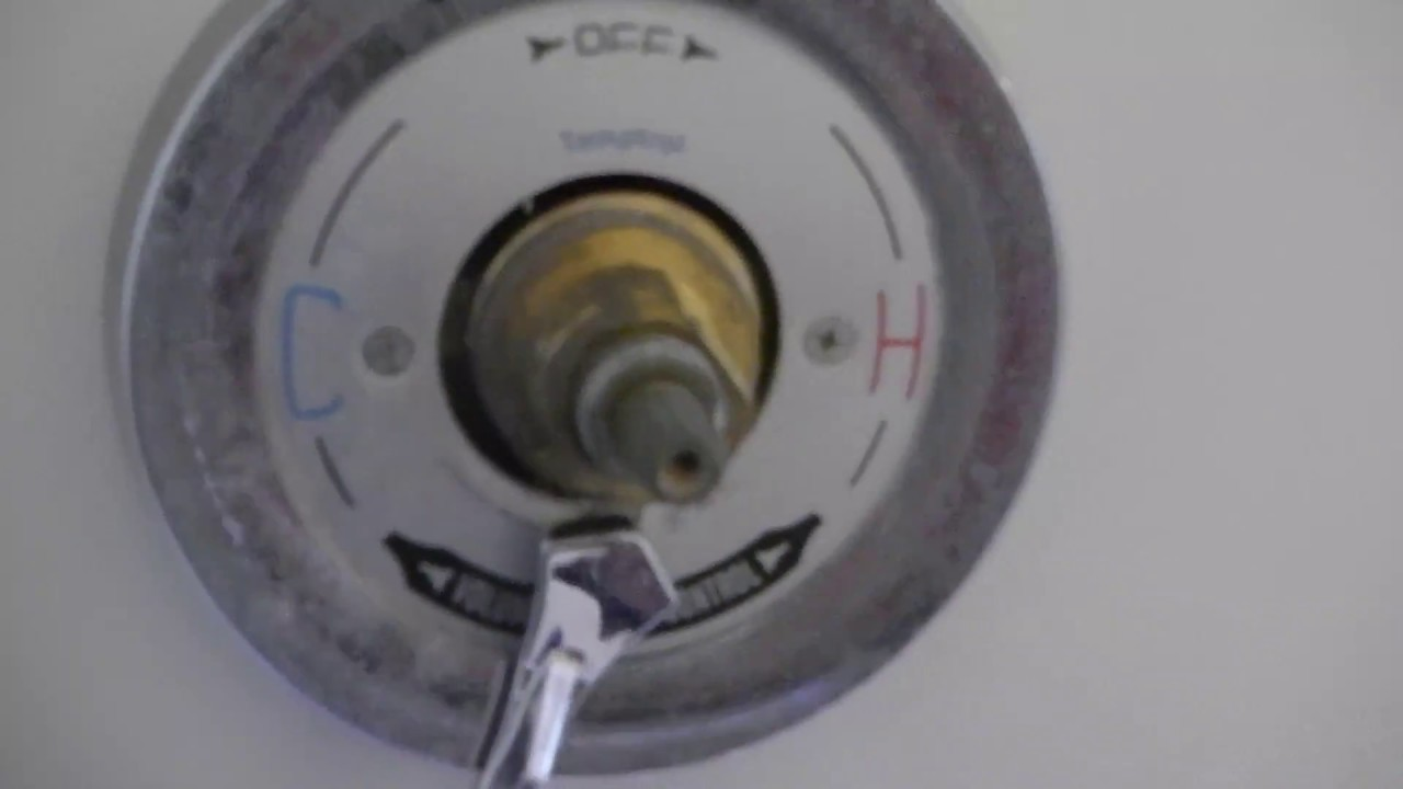 How To Replace Diverter Valve Symmons Temptrol - YouTube