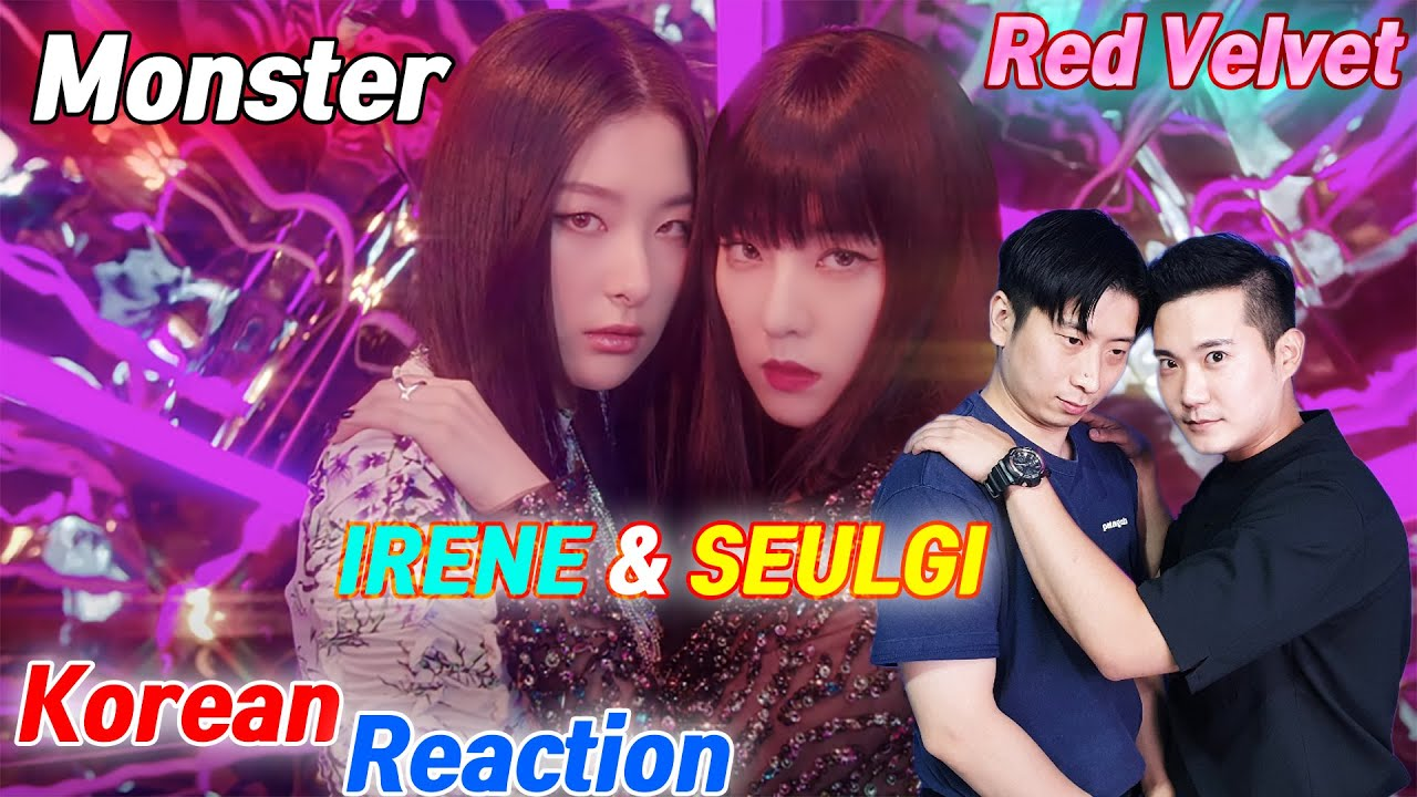 🔥(ENG) KOREAN RAPPERS react to Red Velvet - IRENE & SEULGI 'Monster' 🔥