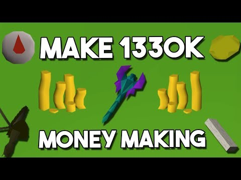 How I Made 1360K in One Hour with a Few Simple Tricks! - A One Hour Money Making Challenge [OSRS]