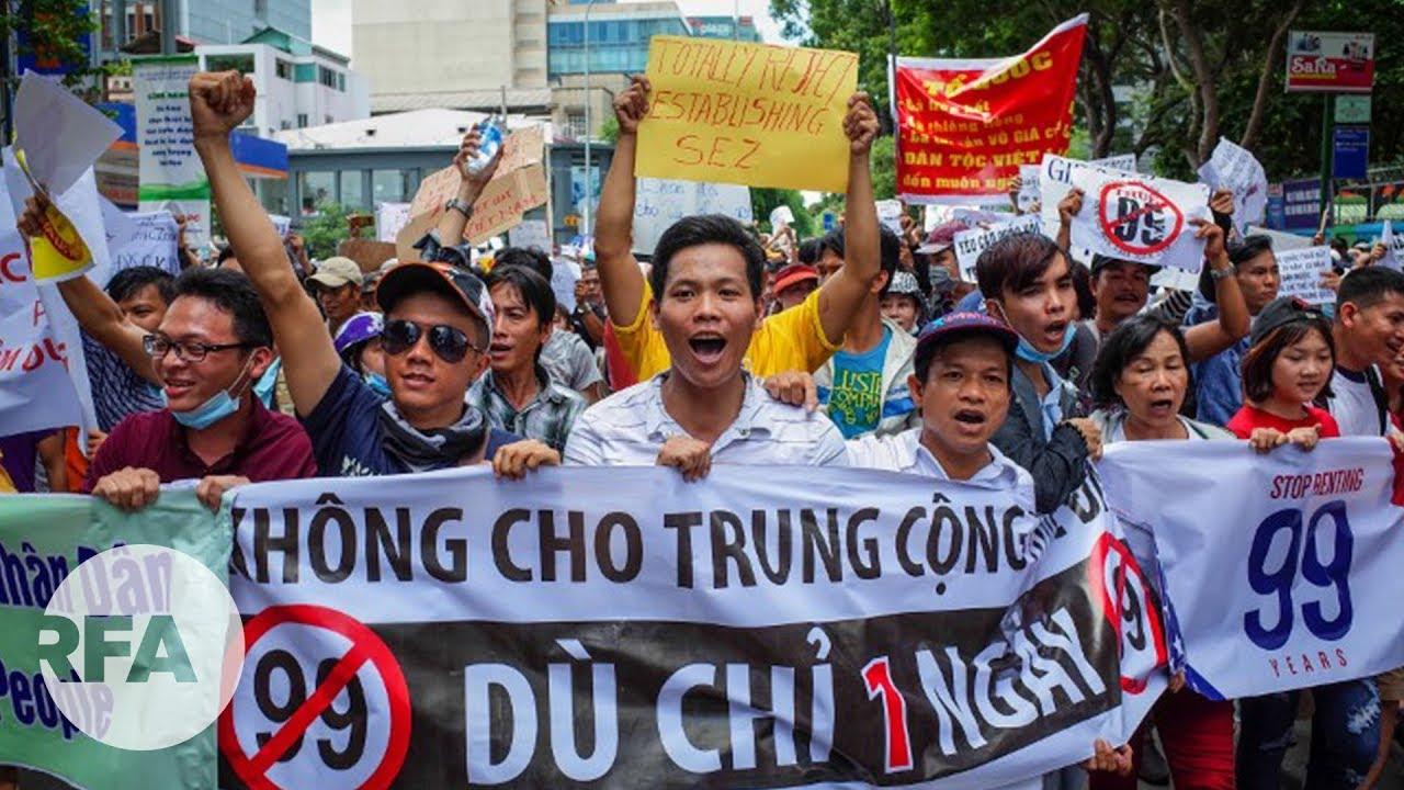 Vì sao Việt Nam chưa ban hành Luật biểu tình?