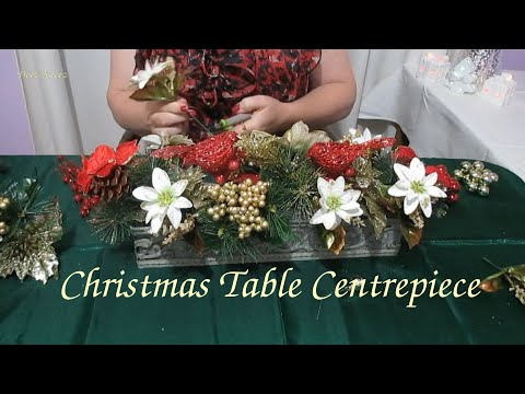 ASMR Christmas Table Centrepiece