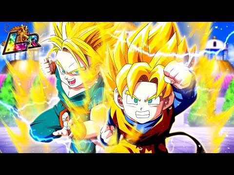 LR TRUNKS & GOTEN LEGENDARY AWAKENING! THIS UNIT IS AWESOME! Dragon Ball Z Dokkan Battle