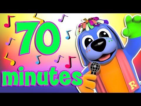 Nursery Rhymes Collection | Non Stop Nursery Rhymes | Best Kids Songs | Raggs TV