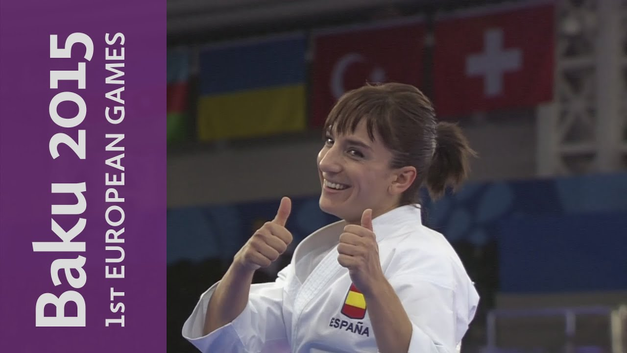 Sandra Sanchez Jaime wins the women's kata | Karate | Baku 2015 European Games