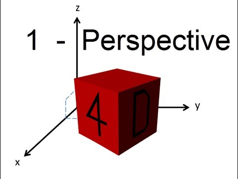 A Journey into the 4th Dimension  Perspective [Part 1]