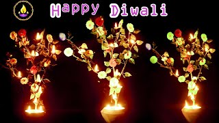 Home Made Diwali Decoration | New Flower Pot Decoration | Diwali_Decoration | दीवाली की सजावट