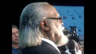 Jimmy McMillan Addresses Press After 2010 New York State Governor