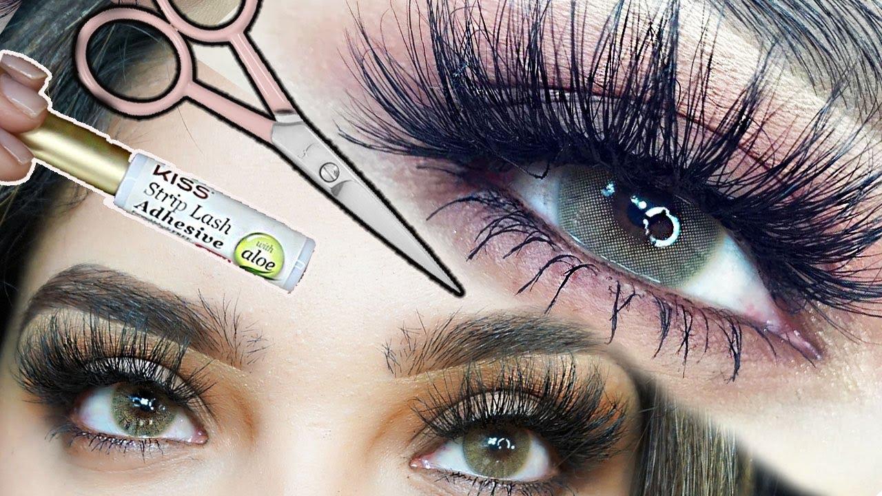 9e7d0a78124 How To Put on False Eyelashes for Begginers: Betzabe Lashes - YouTube