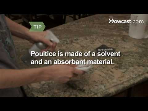 How to Get Grease off a Granite Counter