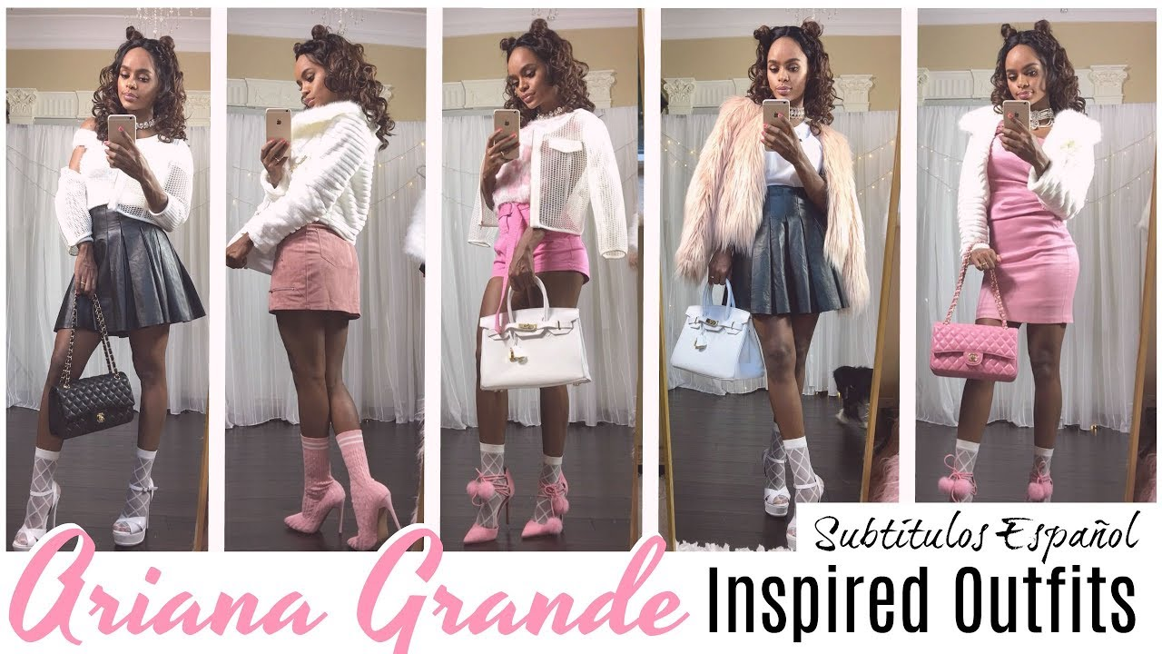 Ariana Grande Inspired Lookbook 2018